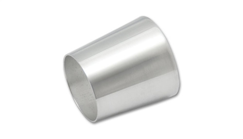Vibrant Aluminum Transition (2.5in x 3in Tube O.D. x 3in Overall Length)