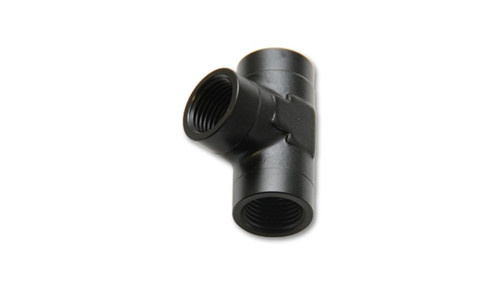 Vibrant 1/8in NPT Female Pipe Tee Adapter