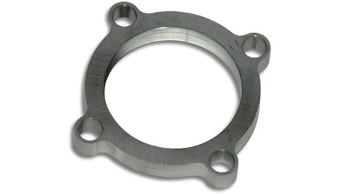 Vibrant GT series / T3 Turbo Discharge Flange (4 Bolt) with 2.5in Inlet I.D. T304 SS 1/2in Thick