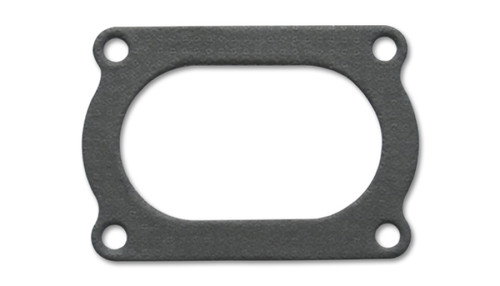 Vibrant 4 Bolt Flange Gasket for 4in O.D. Oval tubing (Matches #13177S)