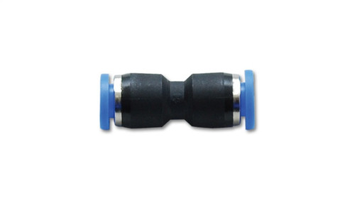 Vibrant Union Straight Pneumatic Vacuum Fitting - for use with 5/32in (4mm) OD tubing
