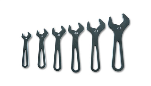 Vibrant Aluminum Wrench Set Set of 6 (AN-4 to AN-16)