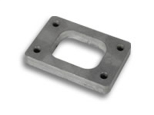 Vibrant T25/T28/GT25 Turbo Inlet Flange T304 SS 1/2in Thick (Tapped Holes)