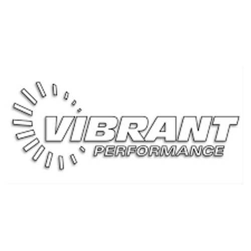 Vibrant 8in Wide x 3.75in High Vibrant Performance Die Cut Decal (Black)