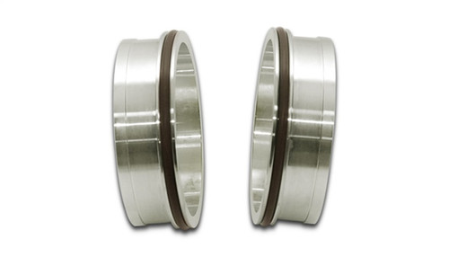 Vibrant Stainless Steel Weld Fitting w/ O-Rings for 4in OD Tubing