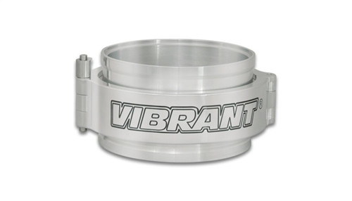 Vibrant HD Clamp Full Assembly for 3.5in OD Tubing - Polished Clamp