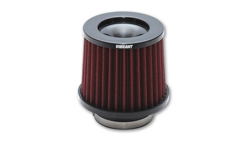 Vibrant The Classic Performance Air Filter (5.25in O.D. Cone x 5in Tall x 4.5in inlet I.D.)