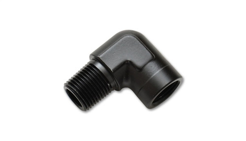 Vibrant 1/4in NPT Female to Male 90 Degree Pipe Adapter Fitting
