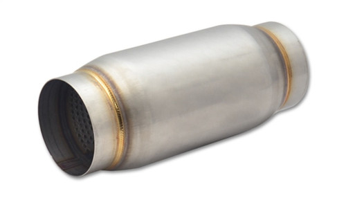 Vibrant SS Race Muffler 3.5in inlet/outlet x 9in long