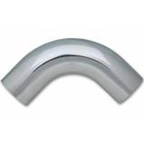 "Vibrant 3.25in O.D. Universal Aluminum Tubing (90 Degree) 3.25"" CLR 5"" Leg Length"
