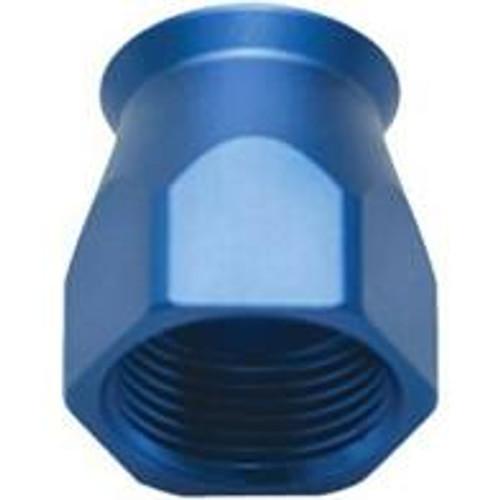 Vibrant -8AN Hose End Socket for PTFE Hose Ends - Blue
