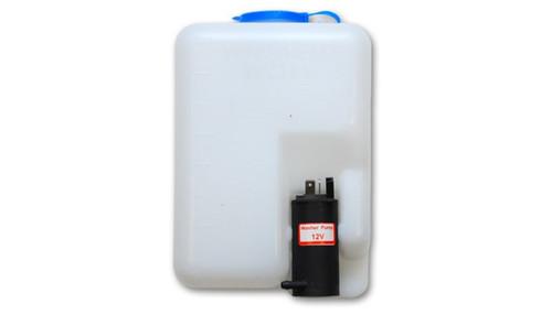 Vibrant Windshield Washer Bottle Repl Kit 1.2L bottle incl bottle ele pump mounting bracket hose