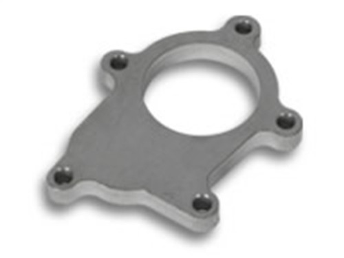 Vibrant T3 Turbo Discharge Flange (5 Bolt) for External Wastegate applicationsT304 SS 1/2in Thick