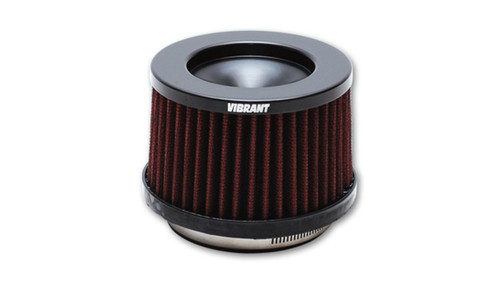 Vibrant The Classic Perf Air Filter 4.75in O.D. Cone x 3-5/8in Tall x 5in inlet I.D. Turbo Outlets