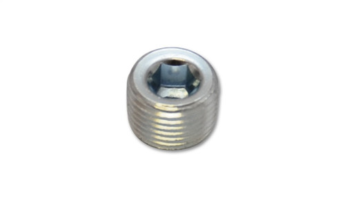 Vibrant 1/8in NPT Male Plug for EGT weld bung - Zinc Plated Mild Steel
