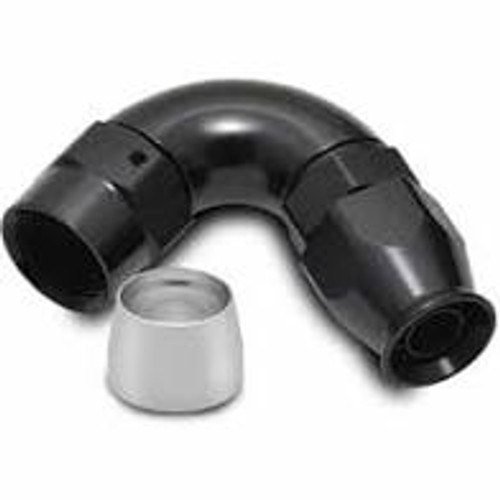 Vibrant -8AN 120 Degree Hose End Fitting for PTFE Lined Hose