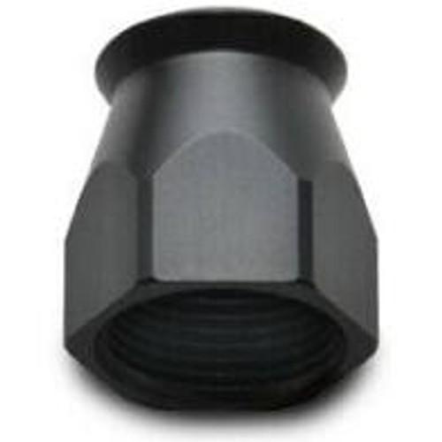Vibrant -6AN Hose End Socket for PTFE Hose Ends - Black