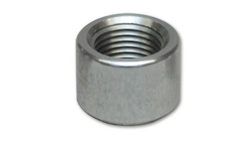 Vibrant 1/4in NPT Female Weld Bung (7/8in OD) - Mild Steel