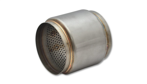 Vibrant SS Race Muffler 4.5in inlet/outlet x 5in long