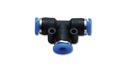 Vibrant Union inTin Pneumatic Vacuum Fitting - for use with 5/32in (4mm) OD tubing