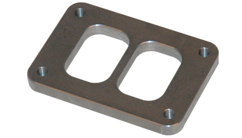 Vibrant T06 Turbo Inlet Flange (Divided Inlet) T304 SS 1/2in Thick