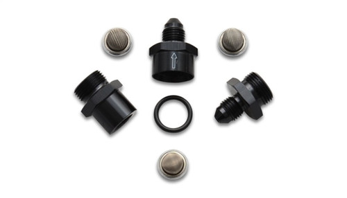 Vibrant Inline Fuel/Oil Filter Set (Size -3AN) incl. 3 filters