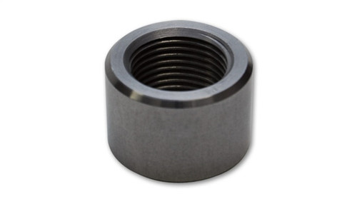 Vibrant 1/4in NPT Female Weld Bung (7/8in OD) - Aluminum