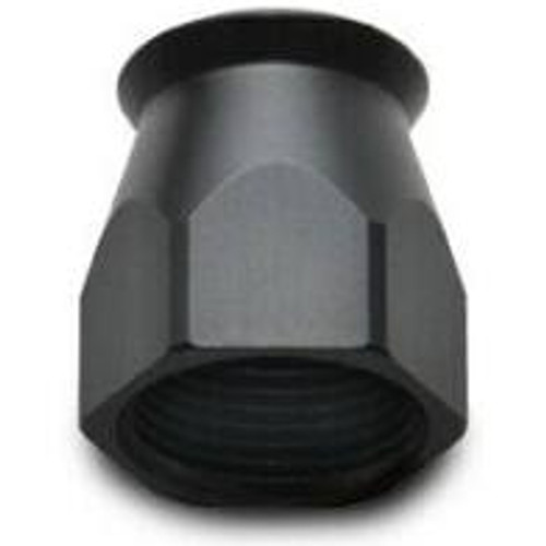 Vibrant -8AN Hose End Socket for PTFE Hose Ends - Black