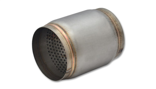 Vibrant SS Race Muffler 3.5in inlet/outlet x 5in long