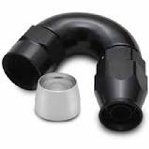 Vibrant -6AN 150 Degree Hose End Fitting for PTFE Lined Hose