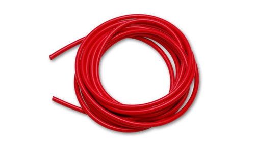 Vibrant 3/4 (19mm) I.D. x 10 ft. of Silicon Vacuum Hose - Red