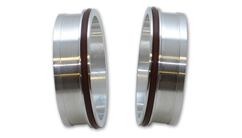 Vibrant HD Aluminum Weld Ferrules w/ O-Rings for 2in OD Tubing - Sold in Pairs