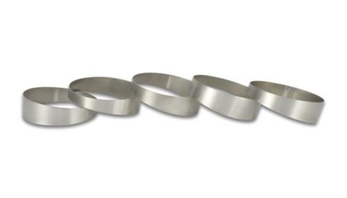 Vibrant 3in O.D. Titanium Pie Cuts - Set of 5