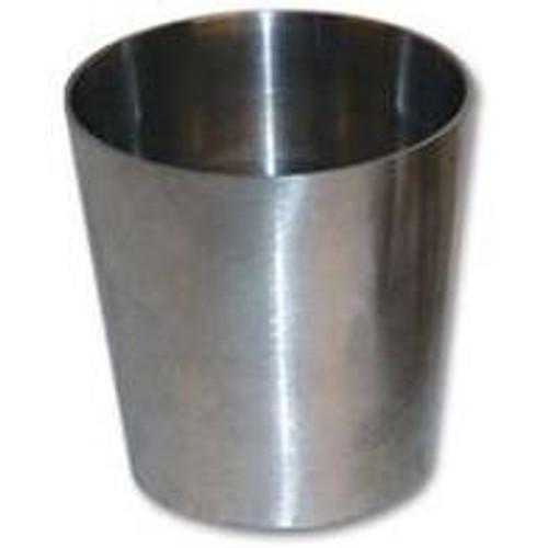 Vibrant 4.0in x 2.0in 304 Stainless Steel Straight Reducer