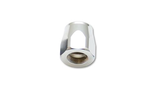 Vibrant -12AN Hose End Socket - Silver