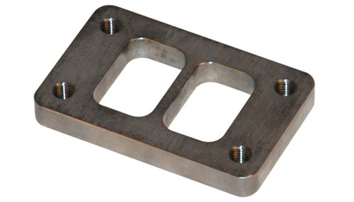 Vibrant T03 Turbo Inlet Flange (Divided Inlet) Mild Steel 1/2in Thick