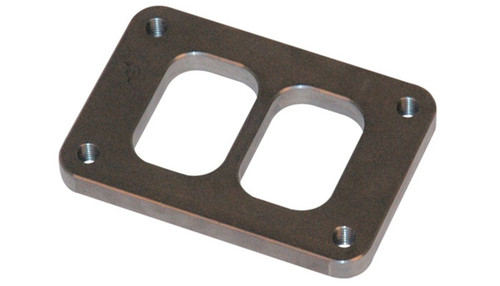 Vibrant T04 Turbo Inlet Flange (Divided Inlet) Mild Steel 1/2in Thick