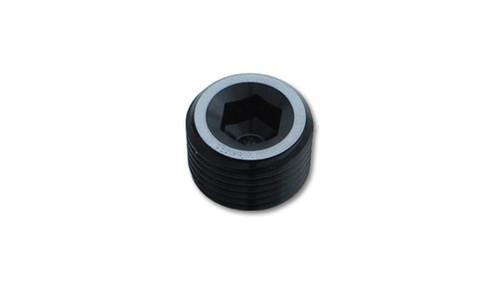 Vibrant 1/8in NPT Socket Pipe Plugs - Aluminum