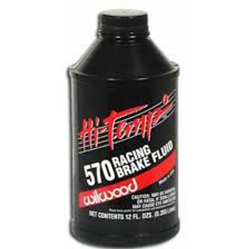 Wilwood 570 Brake Fluid - 12 oz Bottle (ea)