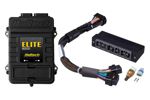 Haltech Elite 2000 + Toyota Chaser JZX100 (1JZ-GTE) Plug 'n' Play Adaptor Harness Kit