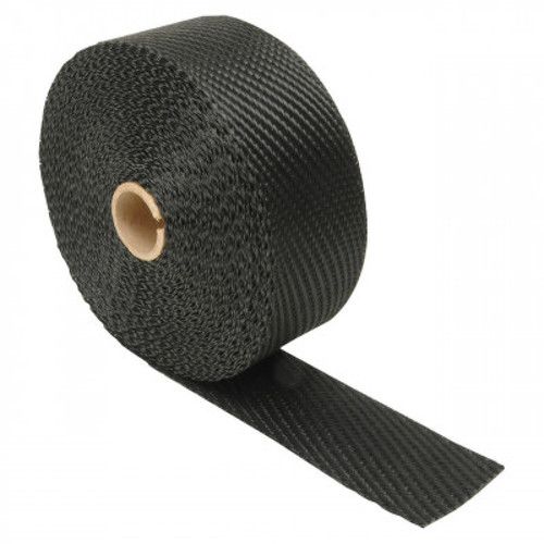 "Design Engineering Black Titanium Exhaust Manifold Wrap 2"" x 1/16 x 25'"