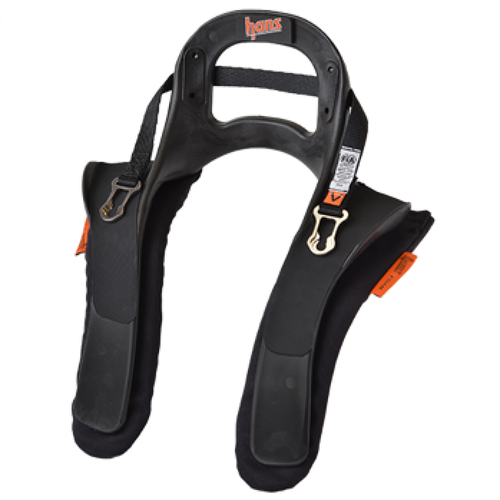 HANS III Device Head & Neck Restraint Quick Click Medium 20 Degrees SFI