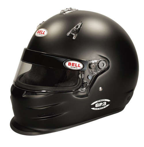 Bell GP3 Black Racing Helmet - 61+ cm