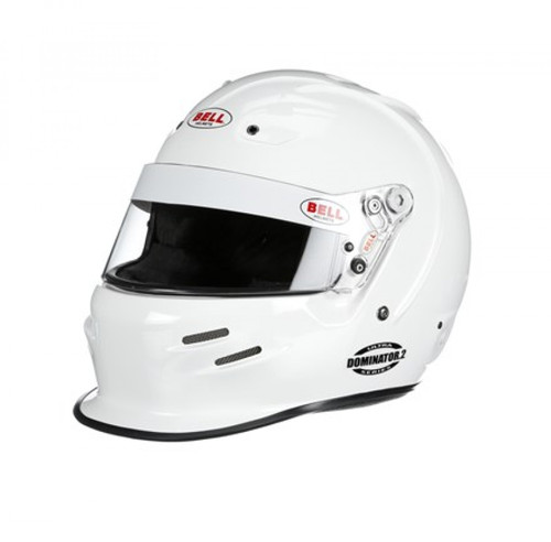 Bell Dominator2 Racing Helmet White 61cm