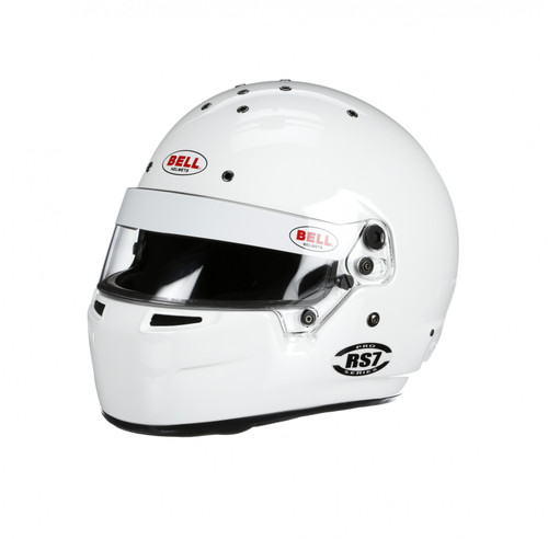 Bell RS7 Racing Helmet White 61+ cm SA2015
