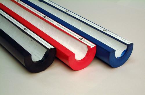 "BSCI SFI 45.1 1 1/2""- 2"" Bar Diameter Roll Bar Padding - 7/8"" Thick, Black"