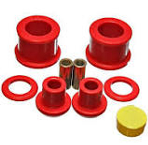 Energy Suspension 95-98 Nissan 240SX (S14) Red Rear Differential Bushing (for 7/8inch O.D. bar Only)