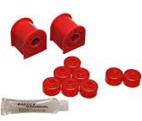 Energy Suspension 95-98 Nissan 240SX (S14) Red 16mm Rear Sway Bar Frame Bushings