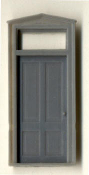 DURANGO STATION DOOR W/ FRAME AND TRANSOM