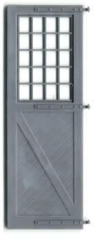 ENGINE HOUSE DOOR 5'2″X15'3″ W/ HINGES (no frame)
